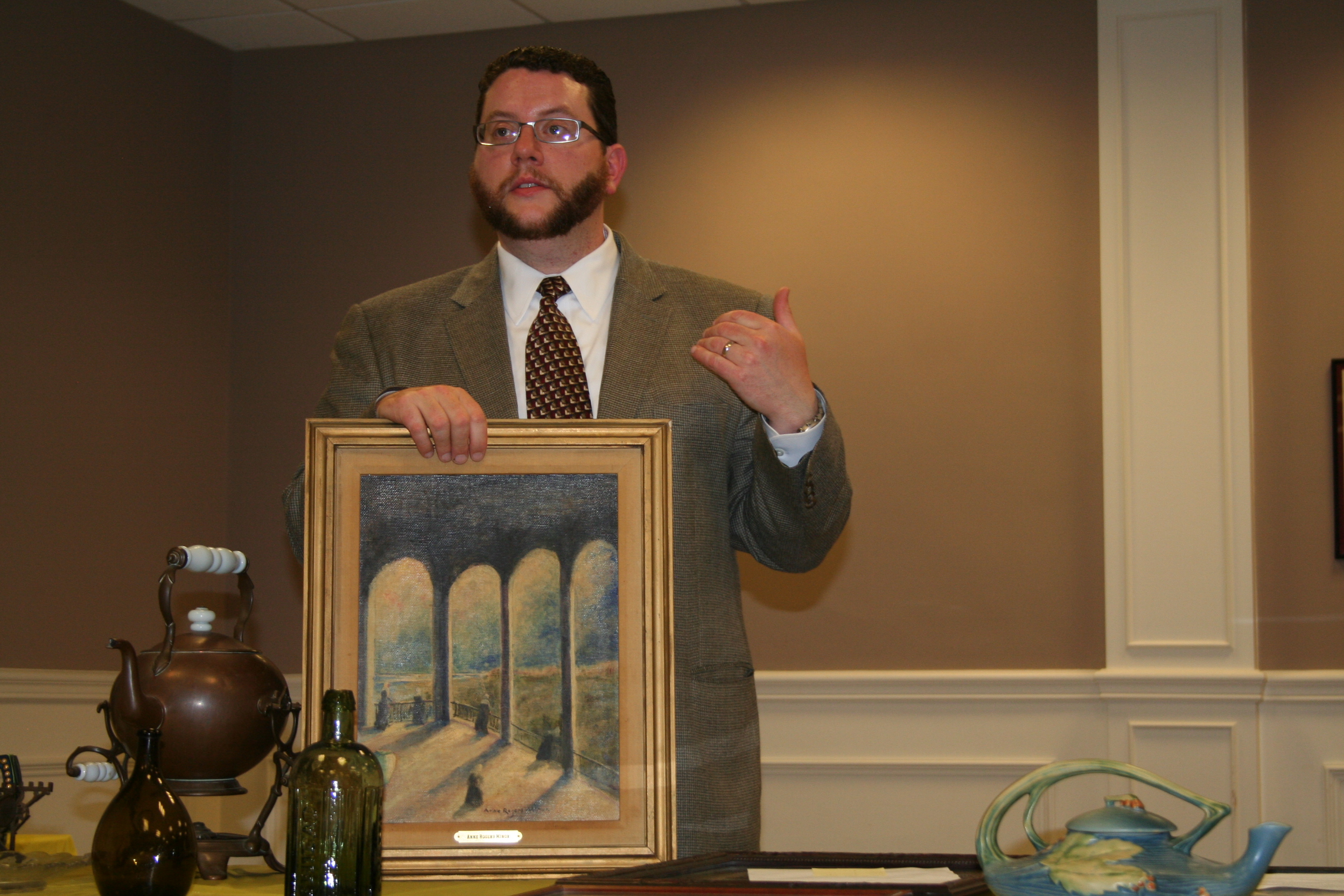 Antiques and Estate Appraiser Ryan C Brechlin
