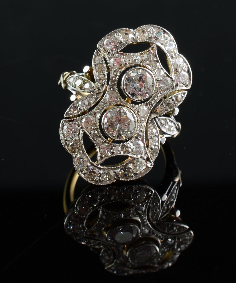 Antique Art Deco Diamond Ring