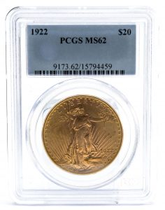PCGS Graded Gold Coin