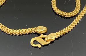 916 22k gold hallmarks